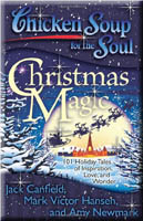 book cover: chicken soup: christmas magic